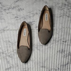Steve Madden Casual Slip On Suede Loafers Size 38